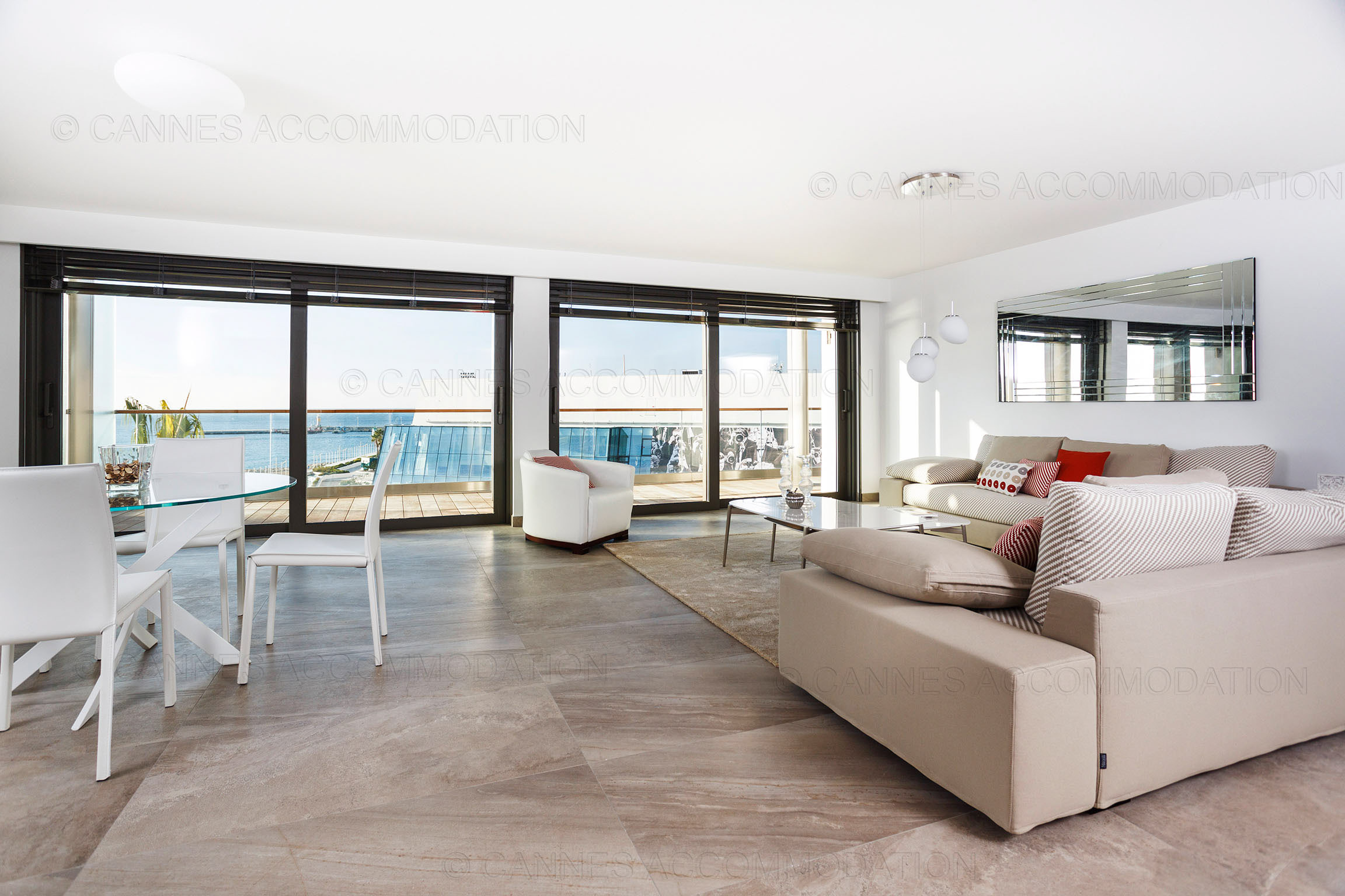 Apartment 2 bedrooms for rent cannes croisette