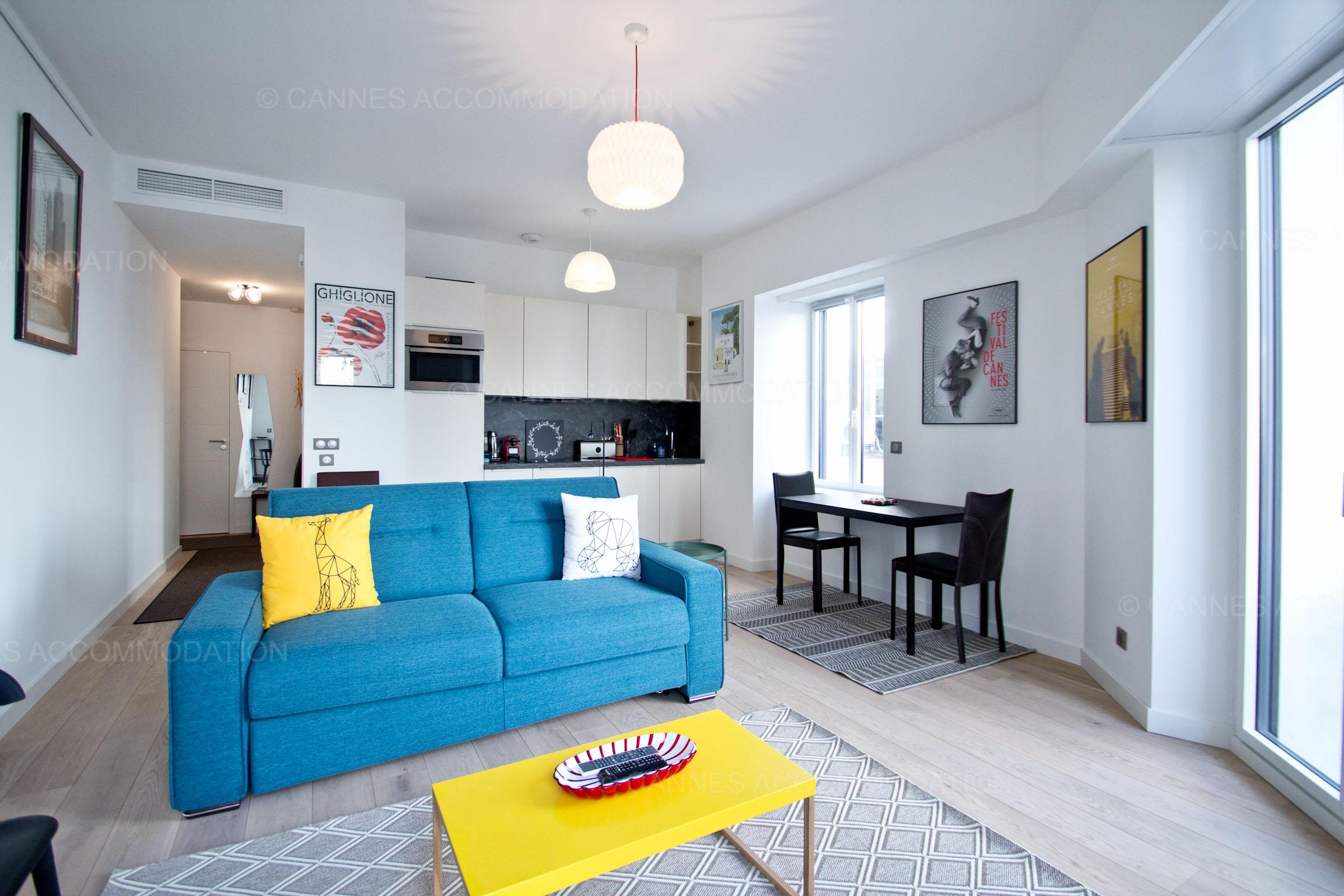 Appartement 1 chambre louer cannes palais palais pop for 1 chambre a louer