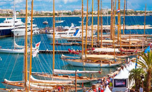 Locations Cannes Yachting Festival 2019