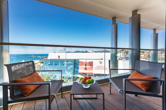 Location appartement Cannes Lions 2020 J -154 - Terrace - 7 Croisette 7C802