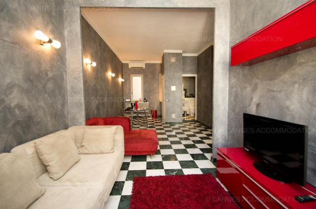 Cannes Film Festival 2020 apartment rental D -76 - Hall â?? living-room - Amaretti