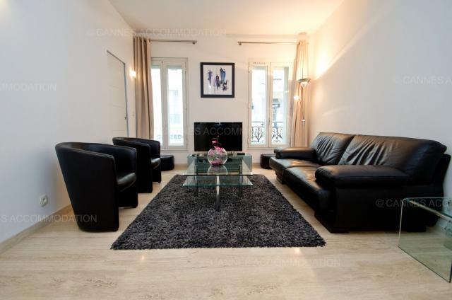 Cannes Film Festival 2020 apartment rental D -76 - Hall â?? living-room - Buttura 1