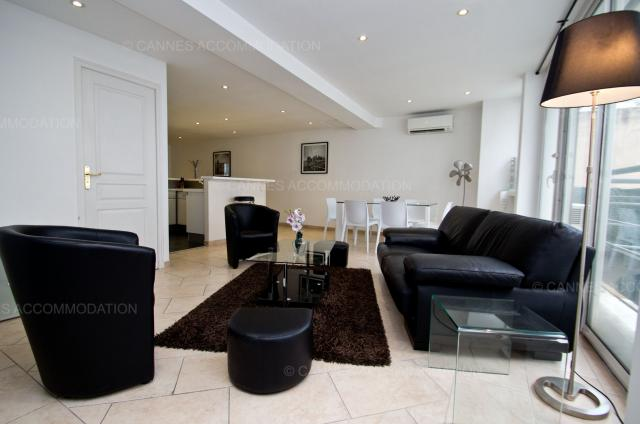 Cannes Film Festival 2020 apartment rental D -76 - Hall â?? living-room - Buttura 2