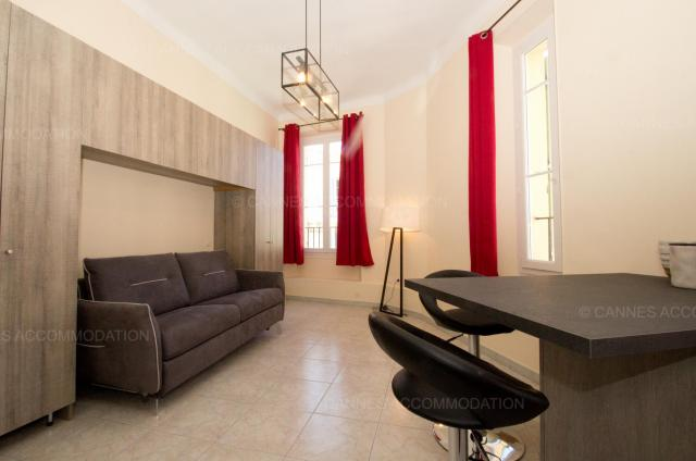 Location appartement Cannes Lions 2020 J -154 - Hall â?? living-room - Carrousel stud