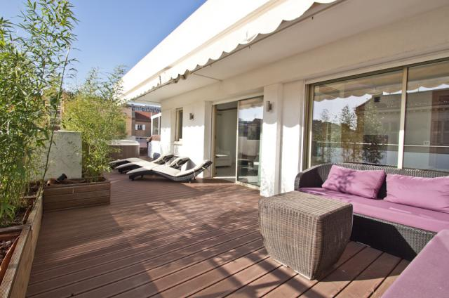 Holiday apartment and villa rentals: your property in cannes - Terrace - Meridien Sky