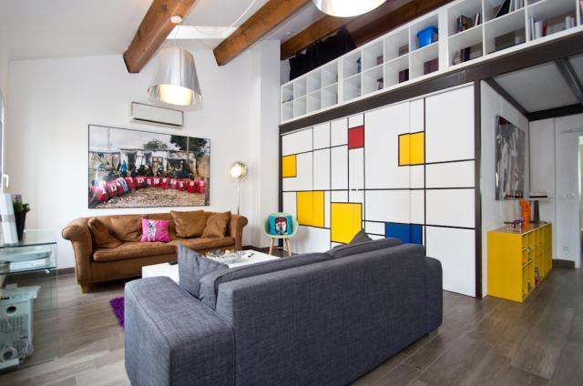 Location appartement Cannes Lions 2020 J -154 - Hall â?? living-room - Sons